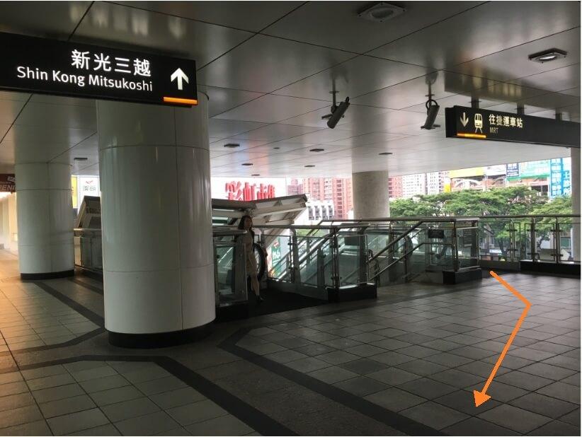 高雄MRT左営駅から新幹線(高鉄)の行き方-4