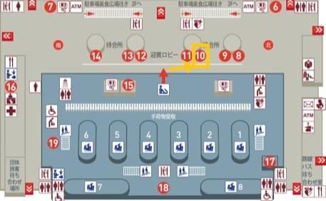 桃園空港第2ターミナルの悠遊カード窓口の場所(販売・チャージ・払い戻し)
