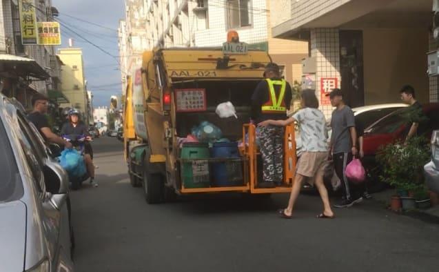 台湾でのゴミ捨て